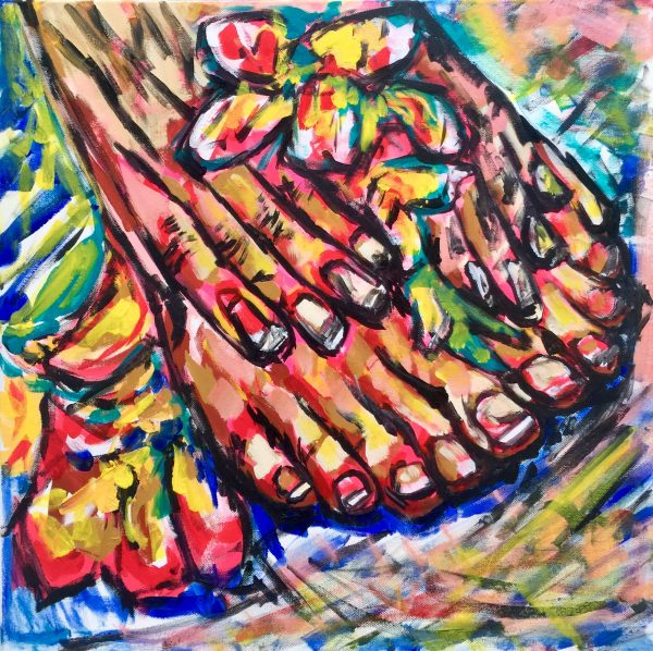 Hands, Feet and Flowers