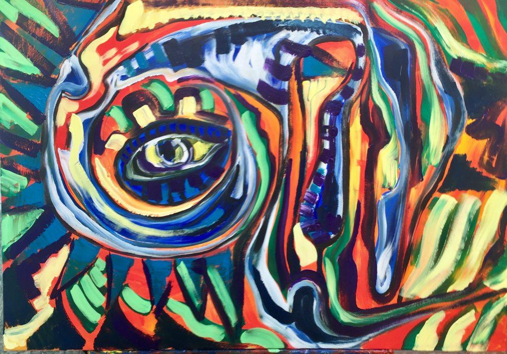 dipinti moderni acrilico su tela