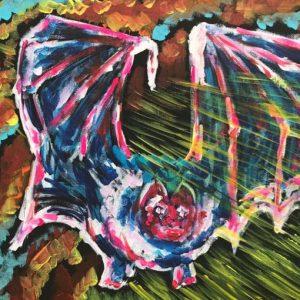 blind feeling, acrylic on panel canvas, cm 28 x cm 36, Occhiobello, 2020.