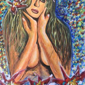 Is magic , acrylic on canvas , cm 50 x cm 70 , Lido delle Nazioni , 2020