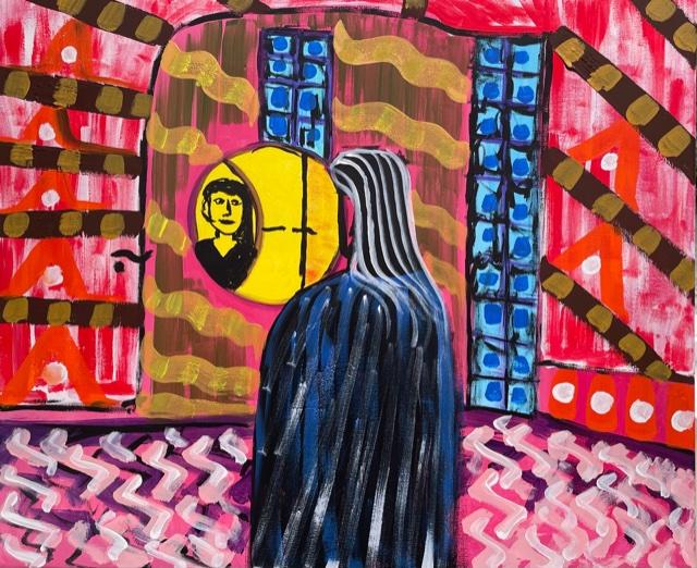 Rejuvenavit ,acrilic on canvas , cm 50 x cm 60 , Occhiobello , 2021